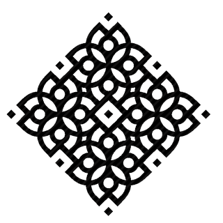 Vector image №10022 for design by keywords complex, square, ornament, floor, classic