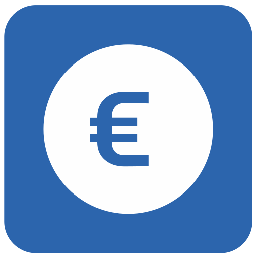 Vector image №10269 for design by keywords euro, money, blue, airport, navigation, pointer, label