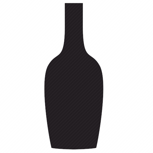 Vector image №10078 by keywords wine, bottle