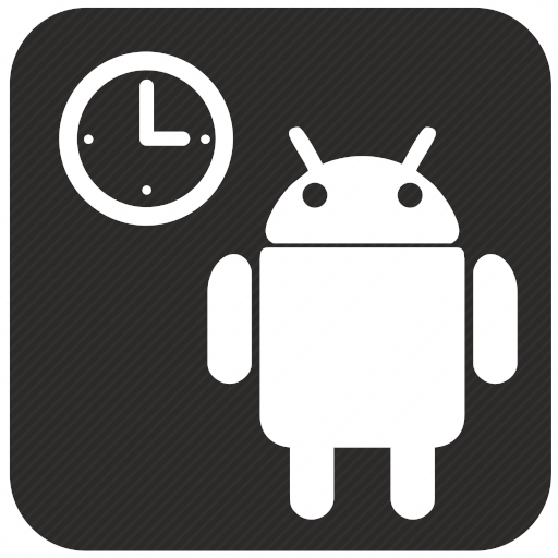 Vector image №10108 by keywords android, clocks