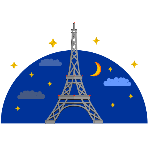 Vector image №10702 for design by keywords eiffel, tower, france, building, culture, paris