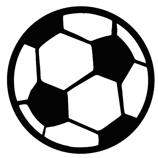 Vector image for logotype by keywords ball, football, sport, game
