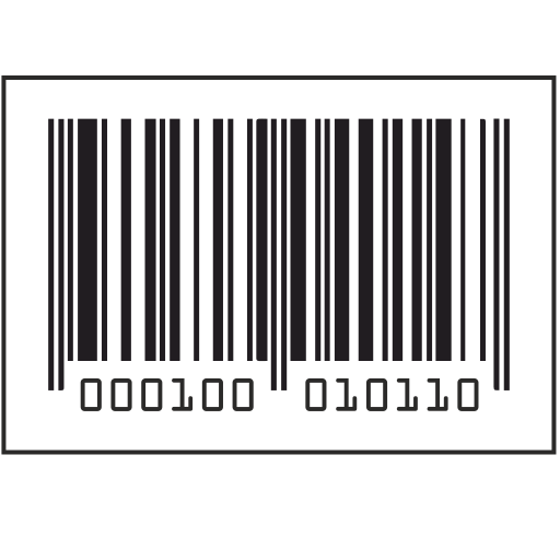 Vector image №11289 for design by keywords barcode, border, number, label
