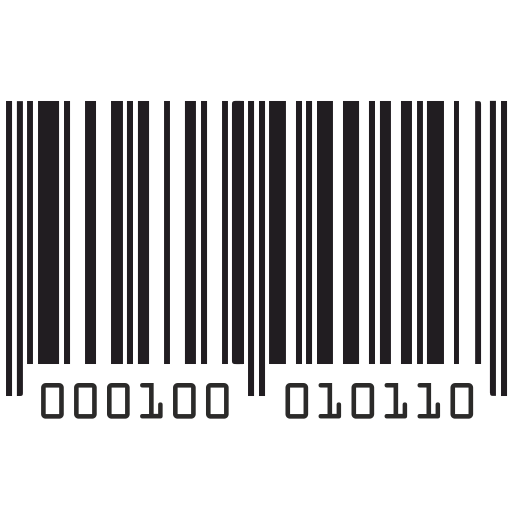 Vector image №11292 for design by keywords long, barcode, numbers