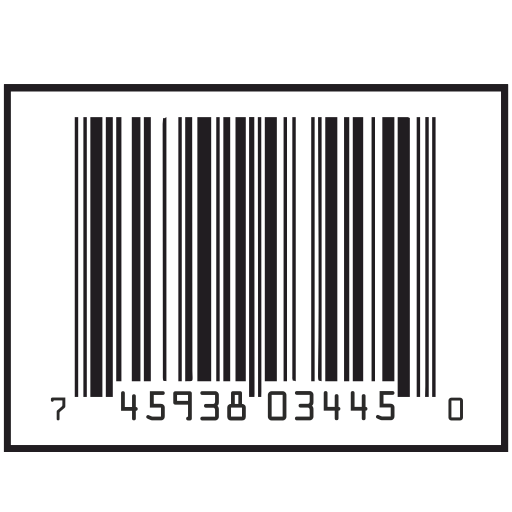 Vector image №11294 for design by keywords short, barcode, numbers, border, label