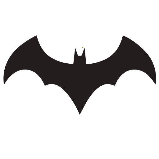Vector image №16045 for design by keywords bat, batman, logo, symbol