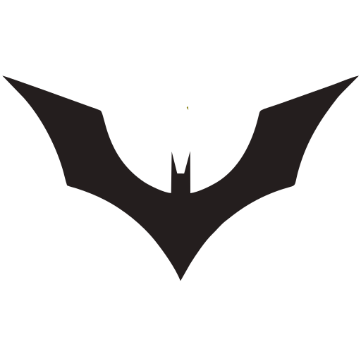 Vector image №16051 for design by keywords bat, fly, batman, logo, symbol, sign