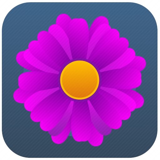 Vector image №10121 by keywords flower, app, mobile, application, label
