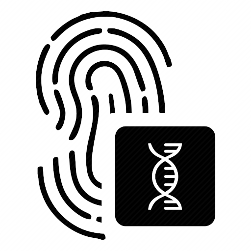 Vector image №10331 by keywords finger, biometry, dna, chain, dactyl