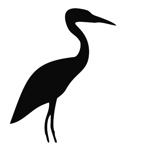 Vector image №10345 for design by keywords bird, stork, heron, pelican