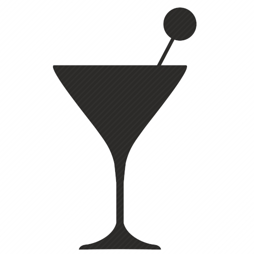 Vector image №10407 by keywords martini, coctail
