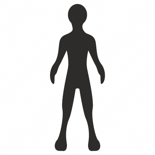 Vector image №10411 by keywords alien, body, man, human, figure