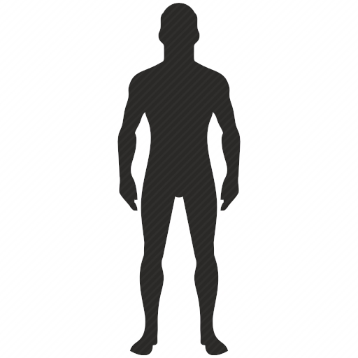 Vector image №10416 by keywords man, figure, body, sport, fitness
