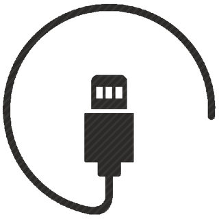 Vector image №10554 by keywords mini, usb, data, cable, connect