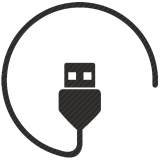 Vector image №10557 by keywords usb, first, edition, data, cable, connect