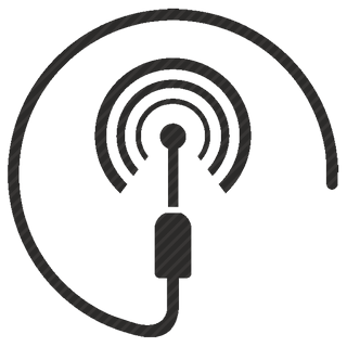 Vector image №10558 by keywords wifi, connect, data, cable, antenna