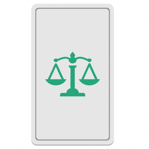 Vector image №10601 by keywords card, court, scales, tarot, divination