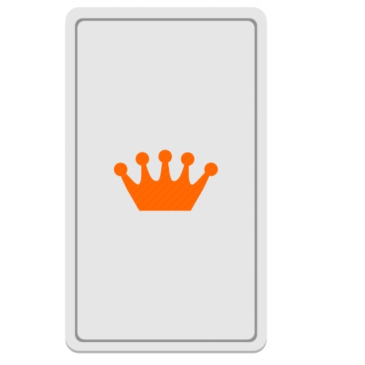 Vector image №10603 by keywords card, crown, king, tarot, divination