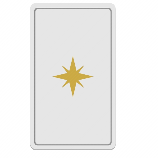 Vector image №10612 by keywords star, card, tarot, divination