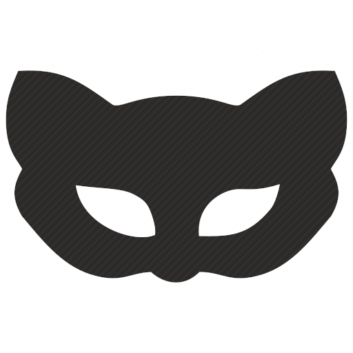Vector image №10616 for design by keywords cat, kitty, mask, face