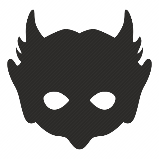 Vector image №10617 by keywords devil, hell, mask, face, hero