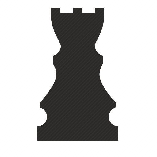 Vector image №10700 by keywords rook, chess, game, role, sport, logic
