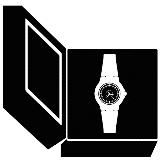Vector image №10723 by keywords classic, luxury, man, watches, clocks, present, box