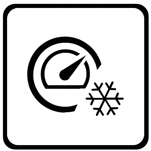 Vector image №10765 by keywords measure, snow, level, cold, air, conditioner