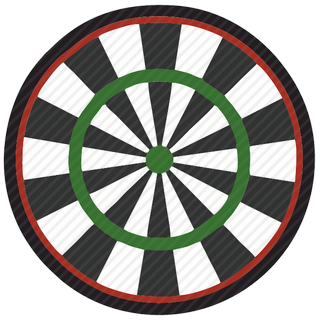 Vector image №11042 by keywords colored, darts, board, game