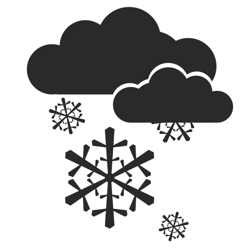 Vector image №13914 for design by keywords snow, cloud