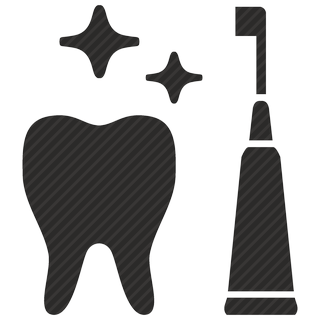 Vector image №11064 for design by keywords clean, tooth, implant, dental, care, stomatology