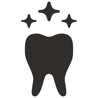 Vector image №11083 for design by keywords shine, tooth, dental, implant, dentist, care, stomatology