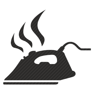 Vector image №11183 by keywords electric, iron, smoke, technics