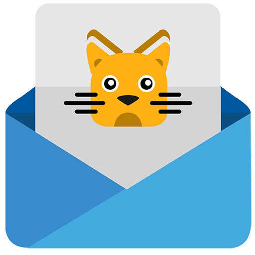 Vector image №11202 by keywords cat, kitty, mail, email, message, letter