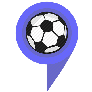 Vector image №11327 for design by keywords pointer, ball, game, sport, football, location
