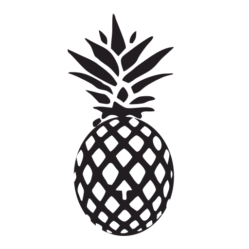 Vector image №14512 for design by keywords pineapple