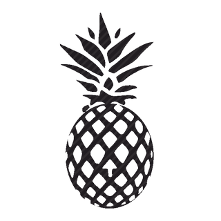 Vector image №11375 for design by keywords pineapple