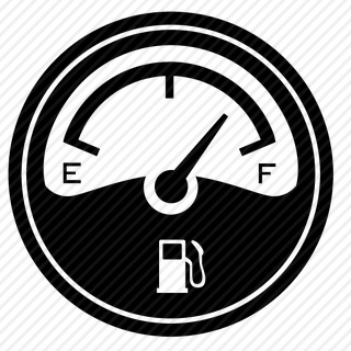 Vector image №11394 for design by keywords round, fuel, gauge, counter