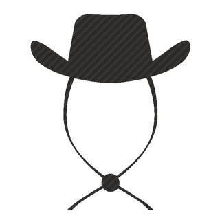 Vector image №11563 for design by keywords cowboy, style, hat, fashion