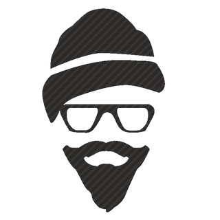 Vector image №11570 for design by keywords hipster, glasses, hat, beard, style
