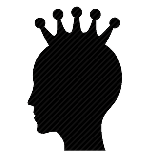 Vector image №11619 for design by keywords queen, crown, modern, head, man