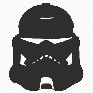 Vector image №11635 for design by keywords darkness, knight, helmet, star, wars