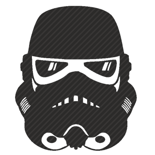 Vector image №11637 for design by keywords droid, android, helmet, star, wars