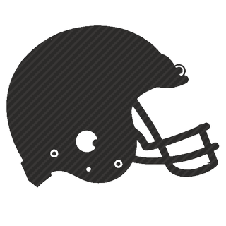 Vector image №11653 for design by keywords rugby, football, safety, helmet, sport