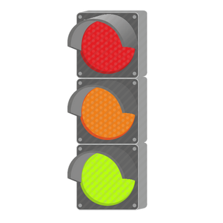 Vector image №12469 for design by keywords classic, road, traffic, light