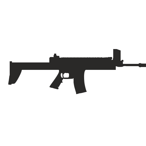 Vector image №12512 for design by keywords gun, weapon, automatic, shooting