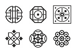 Icon set Abstract