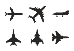 Icon set Air Force