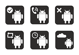 Icon set Android
