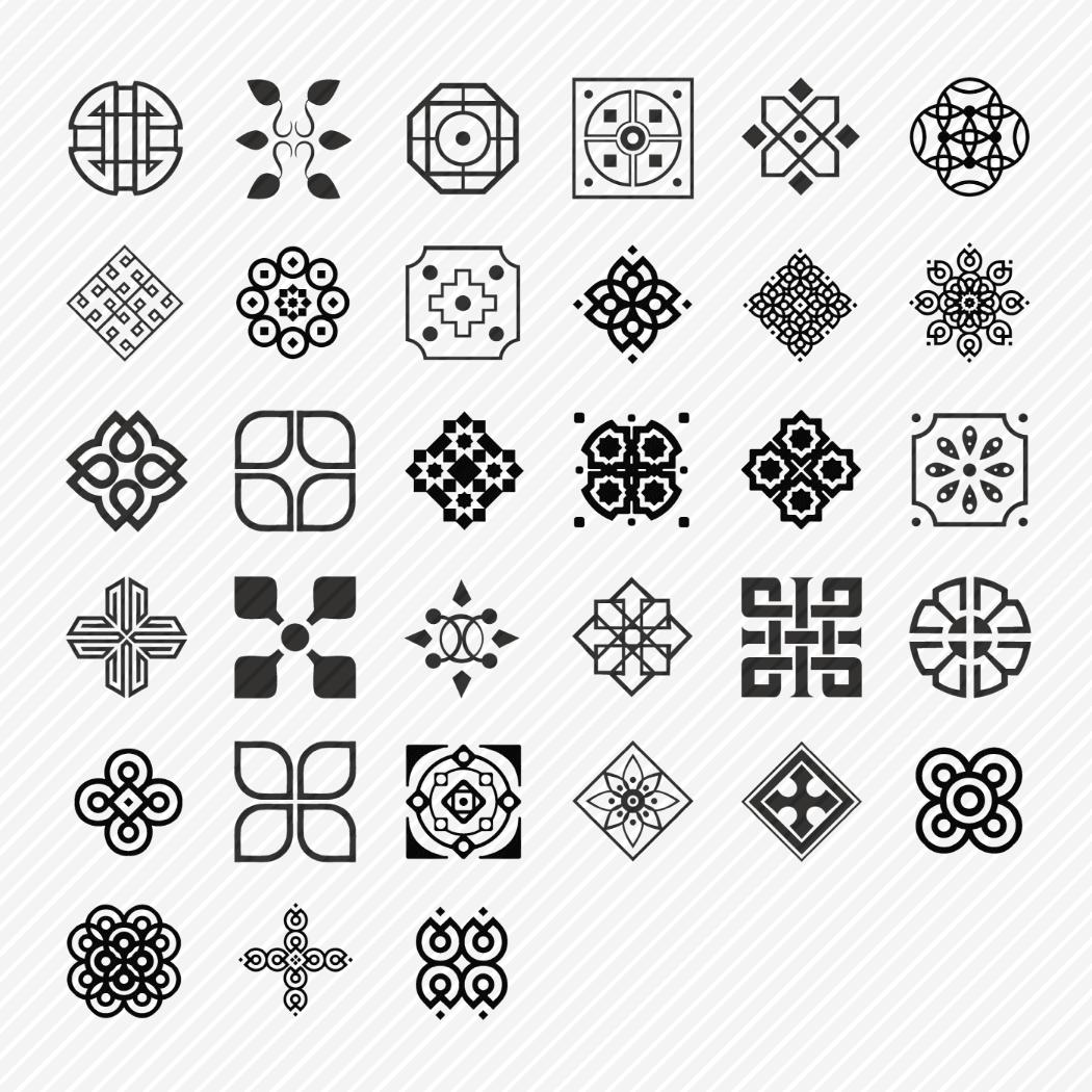 Iconset «Decoration & ornament»